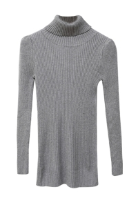 Rib-Knit-Turtleneck-Sweater