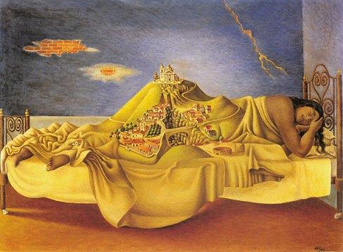 Ruíz, Antonio. El sueño de la Malinche (1939)