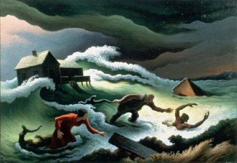 Flood (1951) Thomas Hart Benton