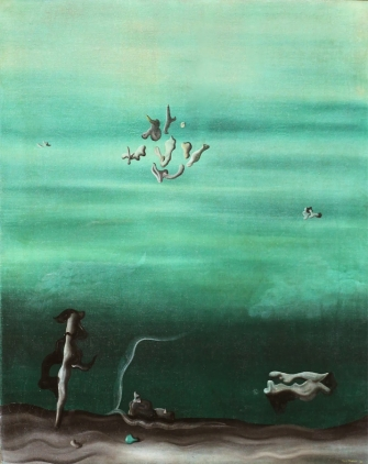 The Lovers - Yves Tanguy 1929