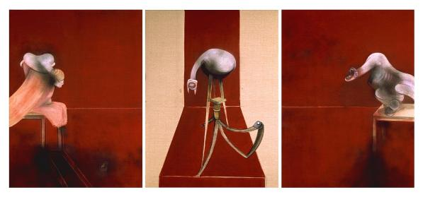 Francis Bacon - Triptych 1944